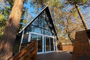 Mid-Century Modern A-frame House