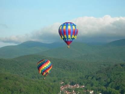 2021 Helen to the Atlantic Hot Air Balloon Race