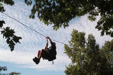 Screaming Eagle Aerial Adventures At Amicalola Falls State Park and Lodge