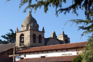 Carmel Mission Basilica Bell Tower