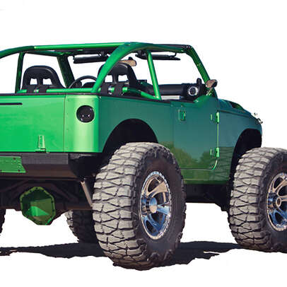Seriously custom, seriously-er vicious Jeeps