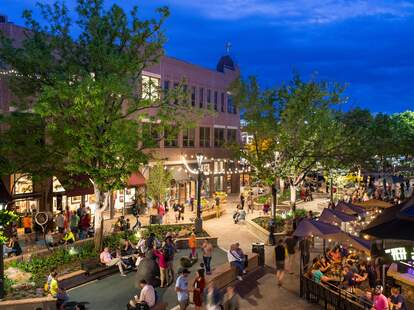 Fort Collins Old Town Square