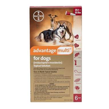 ADVANTAGE MULTI Topical Solution for Dogs