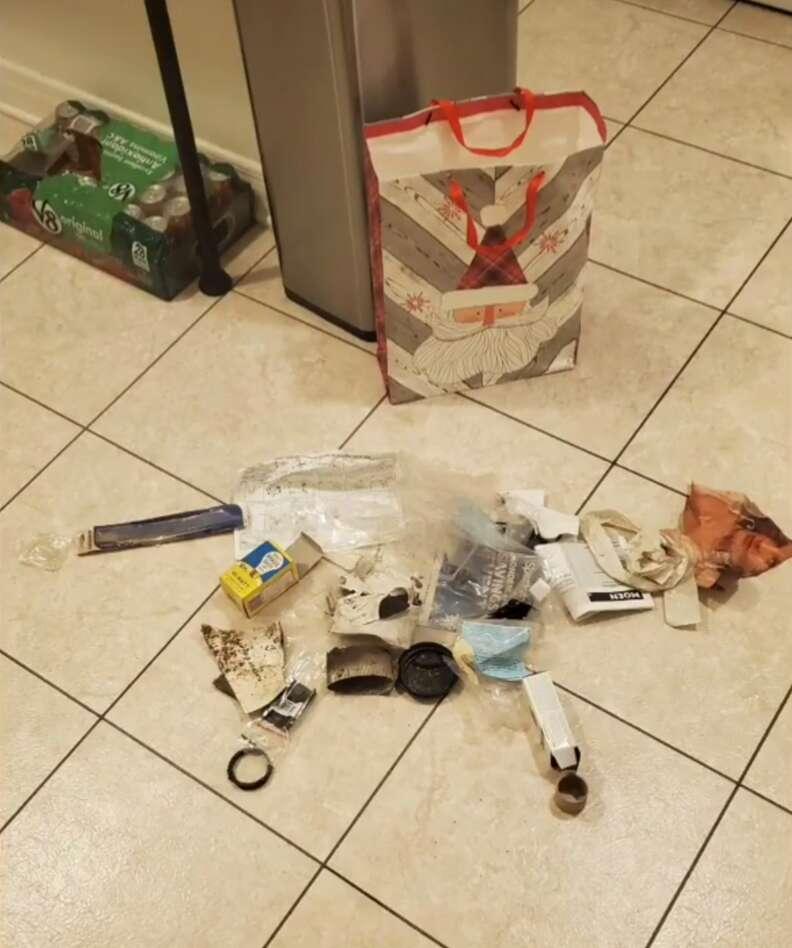 trash gifts