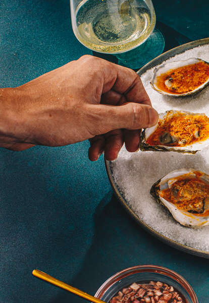 oyster oysters topping recipe
