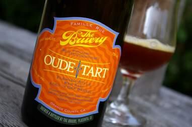 The Bruery Oude Tart sour beer sours beers belgian belgium