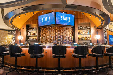 Stadia Bar interior