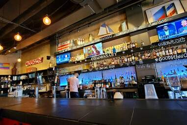 Commissary bar