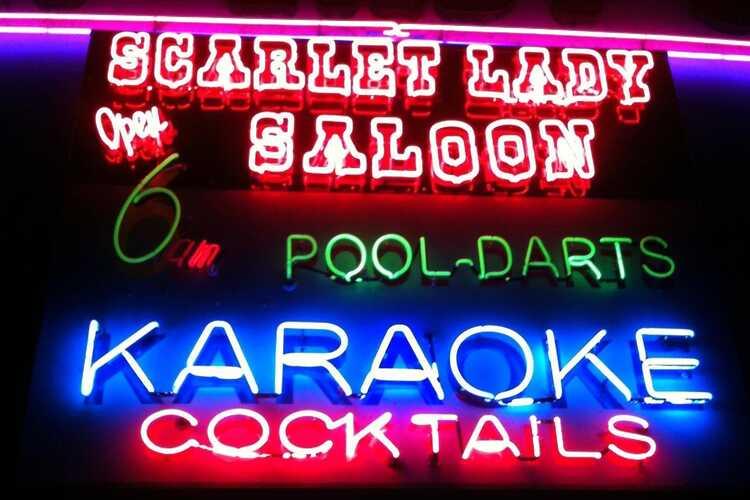 Scarlet Lady Saloon