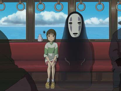 spirited away, chihiro, no-face