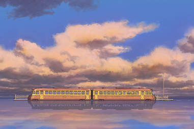 spirited away, train