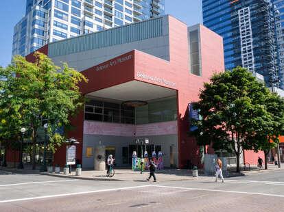 Bellevue Arts Museum exterior