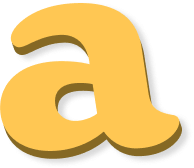 Draggable letter a