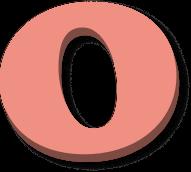 Draggable letter o1