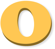 Draggable letter o2