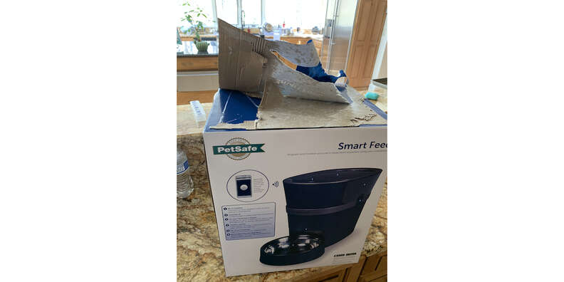petsafe smart feed box