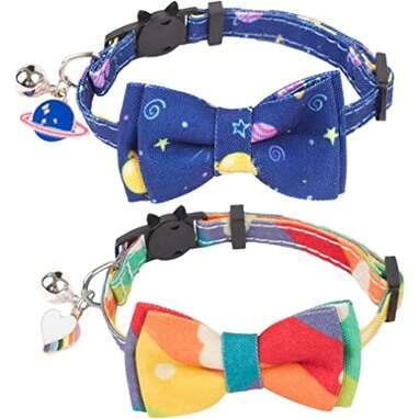 ADOGGYGO Breakaway Universe & Rainbow Cat Collar
