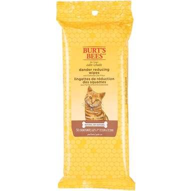 Burt's Bees Dander-Reducing Cat Wipes