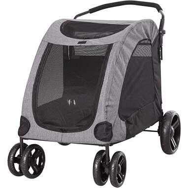 PawHut Foldable Stroller