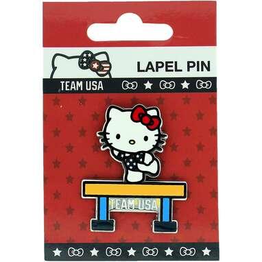 2020 Summer Olympics Team USA Hello Kitty Gymnastic Beam Lapel Pin