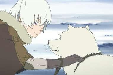 to your eternity, fushi pets white wolf
