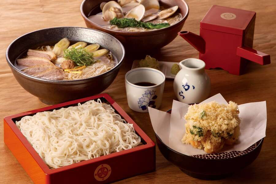 First Look: This Iconic Japanese Soba Restaurant Opens Its First U.S. Outpost in Flatiron