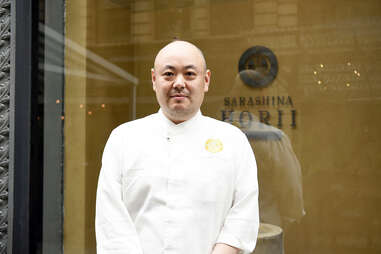 Chef Tsuyoshi Hori