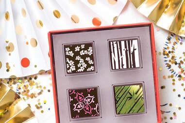 Delysia Chocolatier's Japan Rising Sun Virtual Chocolate Tasting