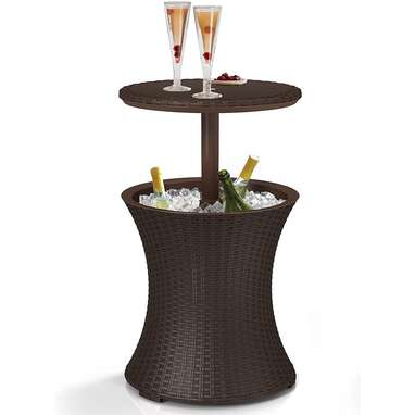Keter Pacific Cooler Outdoor Side Table