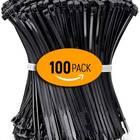 ALBO Black Zip Ties
