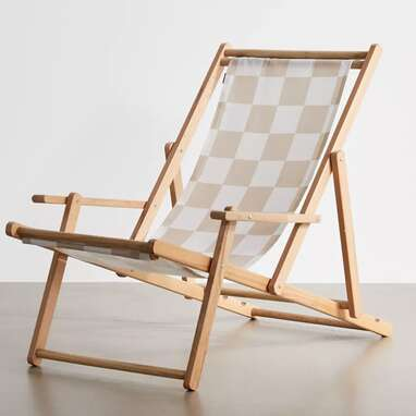 migraneuse For Deny 1989 Check Outdoor Folding Chair