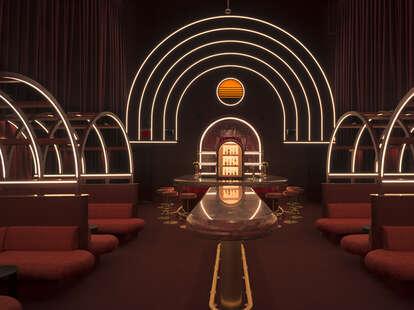 JoJo's Beloved Cocktail interior
