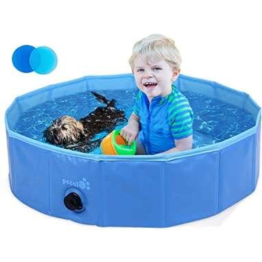 Petcute Foldable Dog Pool
