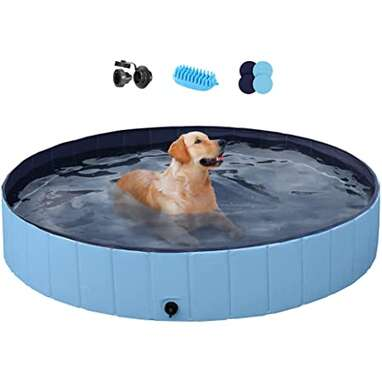 YAHEETECH XL Foldable Dog Pool