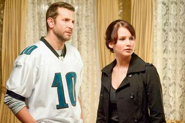 bradley cooper and jennifer lawrence in silver lining's playbook