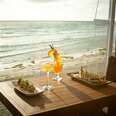 sushi by the ocean