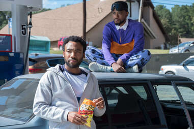 donald glover and lakeith stanfield in atlanta on fx
