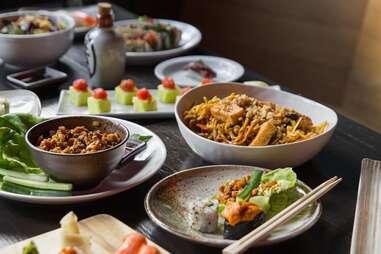 nunu bar table spread