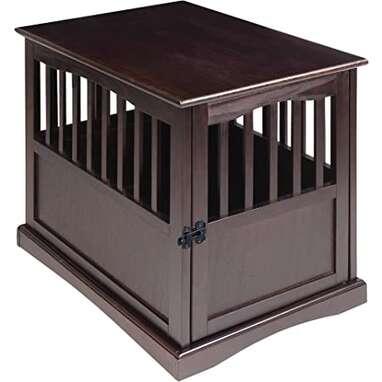Casual Home Wooden Medium Pet Crate