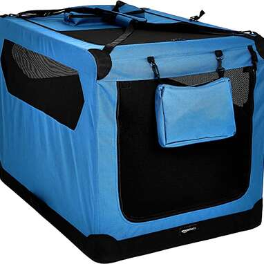 Amazon Basics Folding Portable Dog Crate