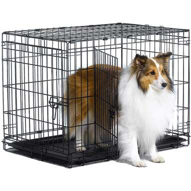 New World Pet Products Folding Crate