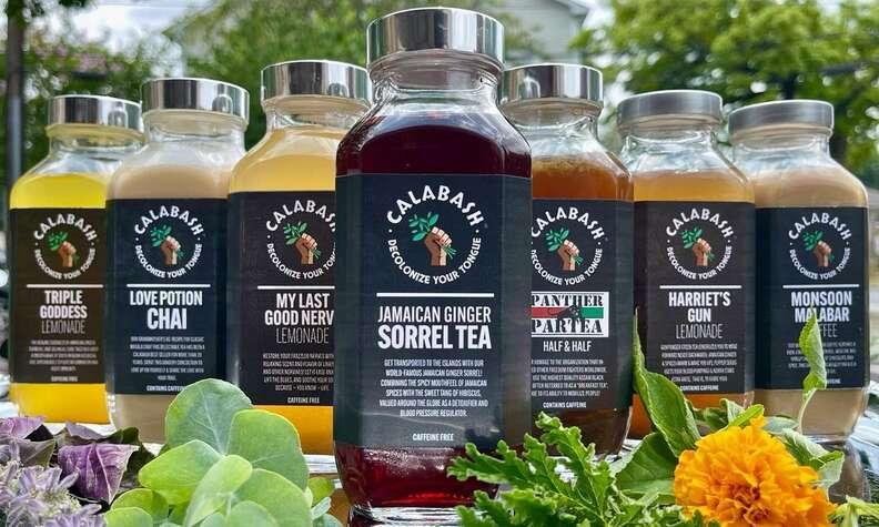 Calabash bottles teas