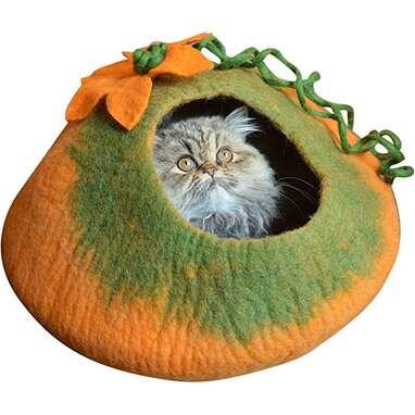 Earthtone Solutions Pumpkin Cat Cave