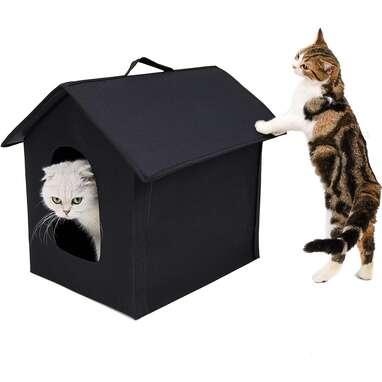 YiEleecae Insulated Cat Shelter