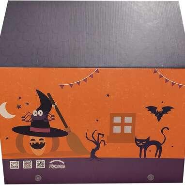 PAWNIE House Halloween Cat Lounge