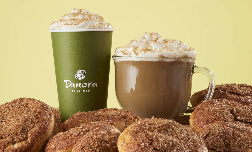 Panera Is Turning Its Cinnamon Crunch Bagel Into a Latte Flavor for Fall