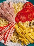 Hiyashi-Chuka, aka Chilled Ramen Noodles