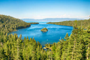 baie émeraude, lac tahoe