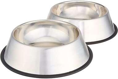 Amazon Basics Stainless Steel Dog Bowls
