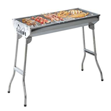 """Outsunny 13"""" Barrel Charcoal Grill"""
